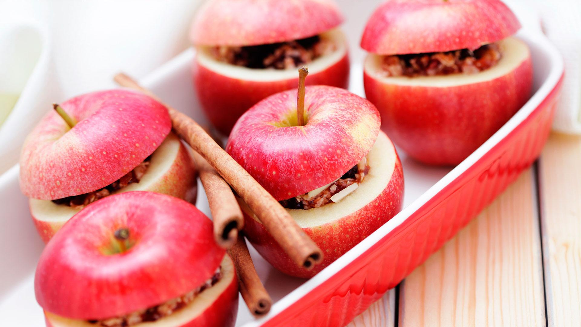 Stekte epler med kanel og sukker dating