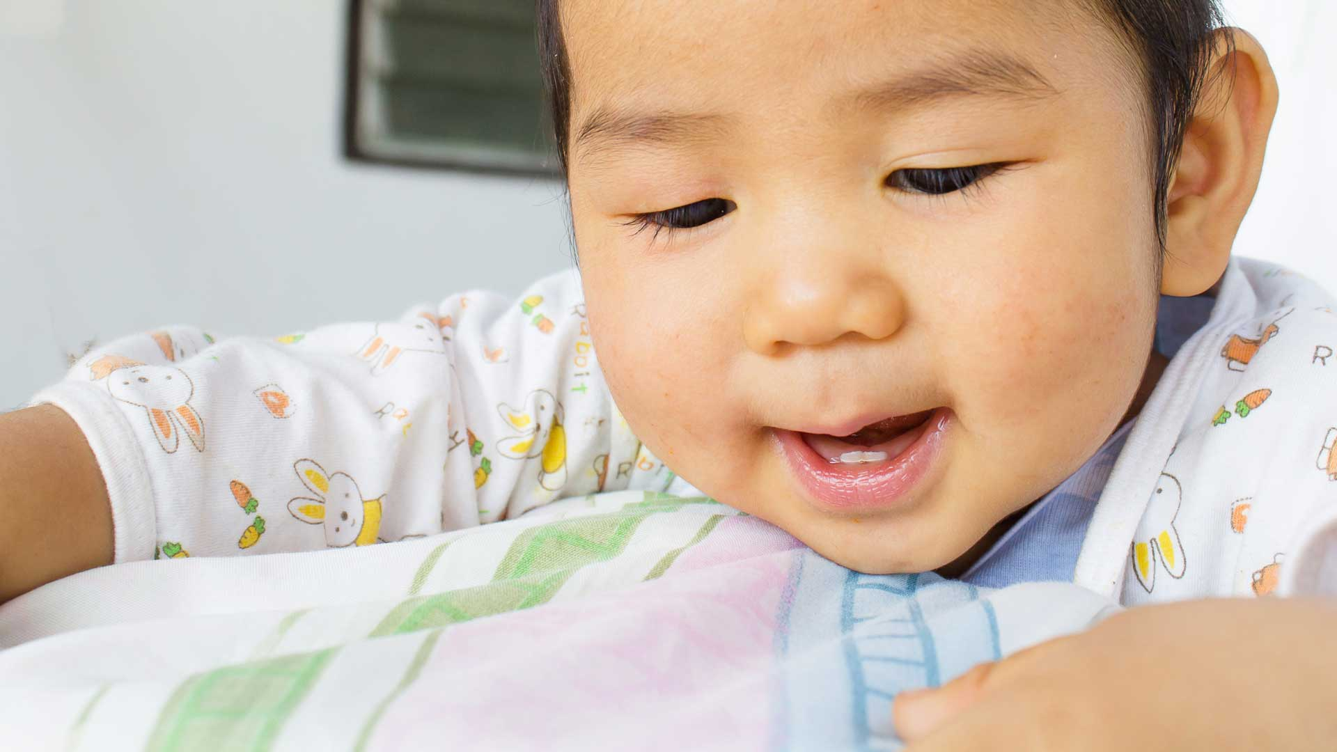 atopisk eksem i ansiktet hos baby